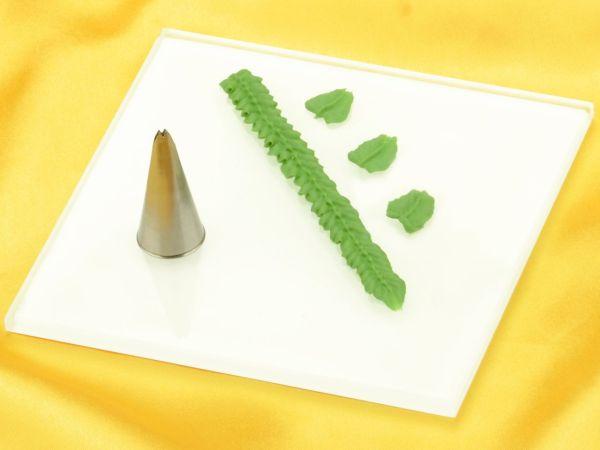Garniertülle Blatttülle 6mm x 0,7mm