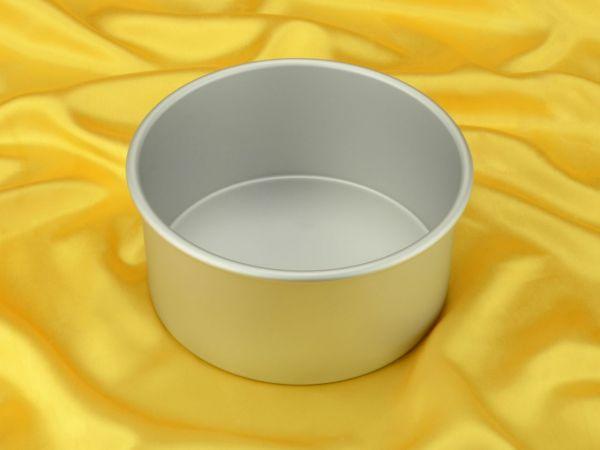 Backform rund, tief, für Torten 20x10cm
