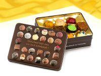 Präsentdose Schokolade hilft 150g