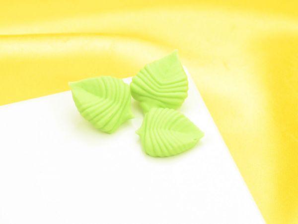 Blätter 23mm Zucker 10 Stück
