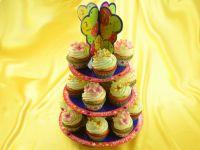 Cupcake Etagere Happy Birthday