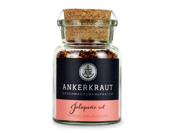 Ankerkraut Jalapeño rot, geschrotet 55g