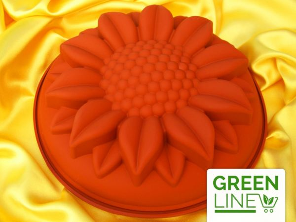 Silikonform groß Sonnenblume