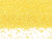 Mini-Perlen gelb-glimmer 100g
