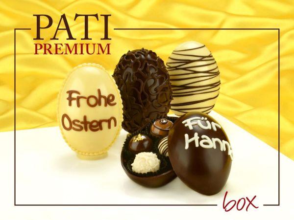 Schokoladen-Eier