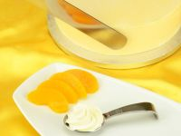 Torten- und Dekorcreme Pfirsich-Maracuja 500g