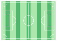 Tortenaufleger Fußballfeld 20x30cm