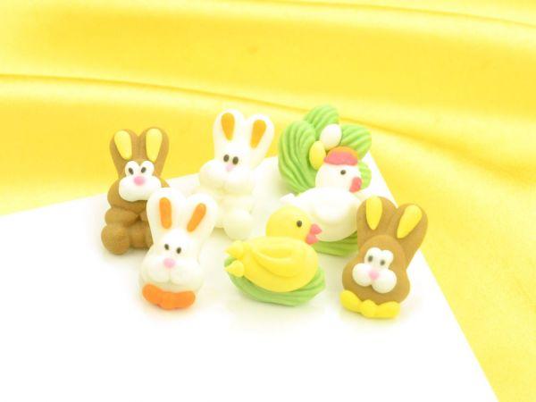 Figuren Ostern Zucker ca 14 Sets a 7 Stück