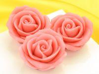 Marzipan-Rosen groß rosa 2 Stück
