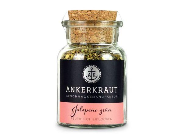 Ankerkraut Jalapeño grün, geschrotet 45g