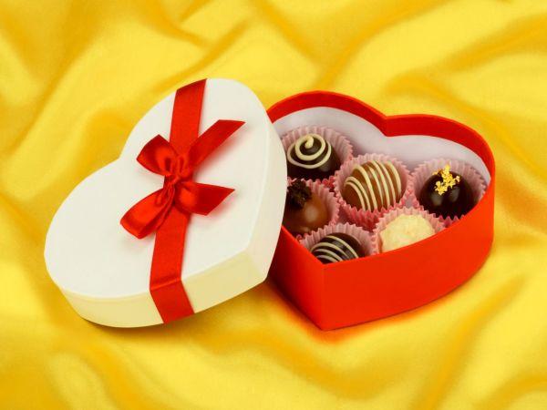 Chocolate Case Heart für 6 Pralinen