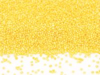 Mini-Perlen gelb-glimmer 1,0kg