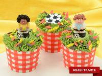 Cupcakes für Fußballfans