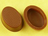 1 Folie Oval-Schalen Vollmilch