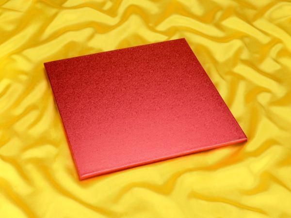 Cakeboard quadrat 35cm pink