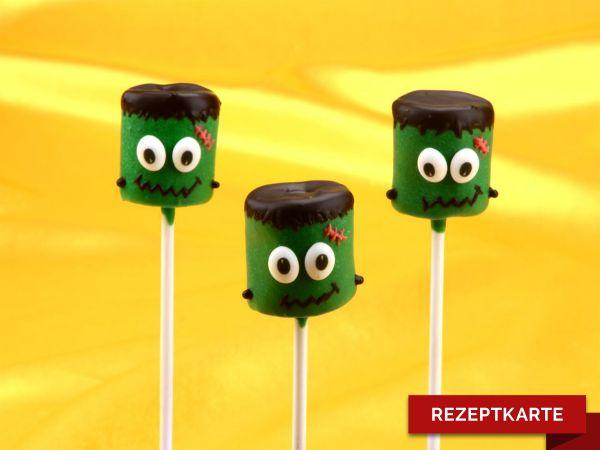 Frankenstein Cake-Pops