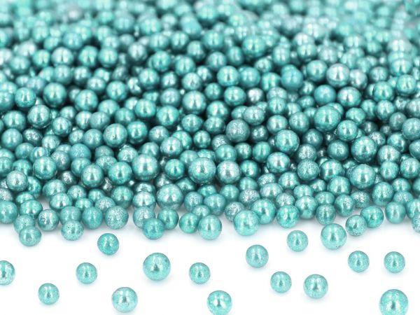 Metallic-Perlen blau 50g