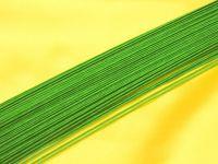 Blumendraht grün 26G 100 Stück