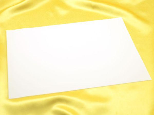 Fondantpapier 20x30cm 2 Stück blanko
