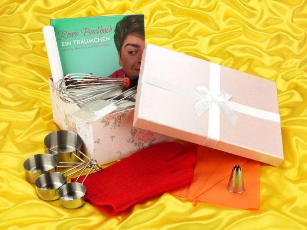 Geschenkset Renes Backbuch