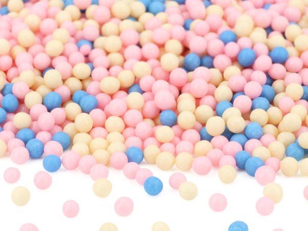 Weiche Zuckerperlen Prinzessinnen-Mix 80g